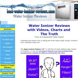 Fake Water Ionizer Reviews
