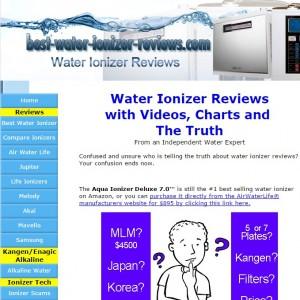 Fake Water Ionizer Reviews