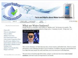 Water Ionizer Machine Review