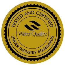 Chanson Ionizers cert for Water Industry standards