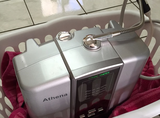 Moving a Water Ionizer